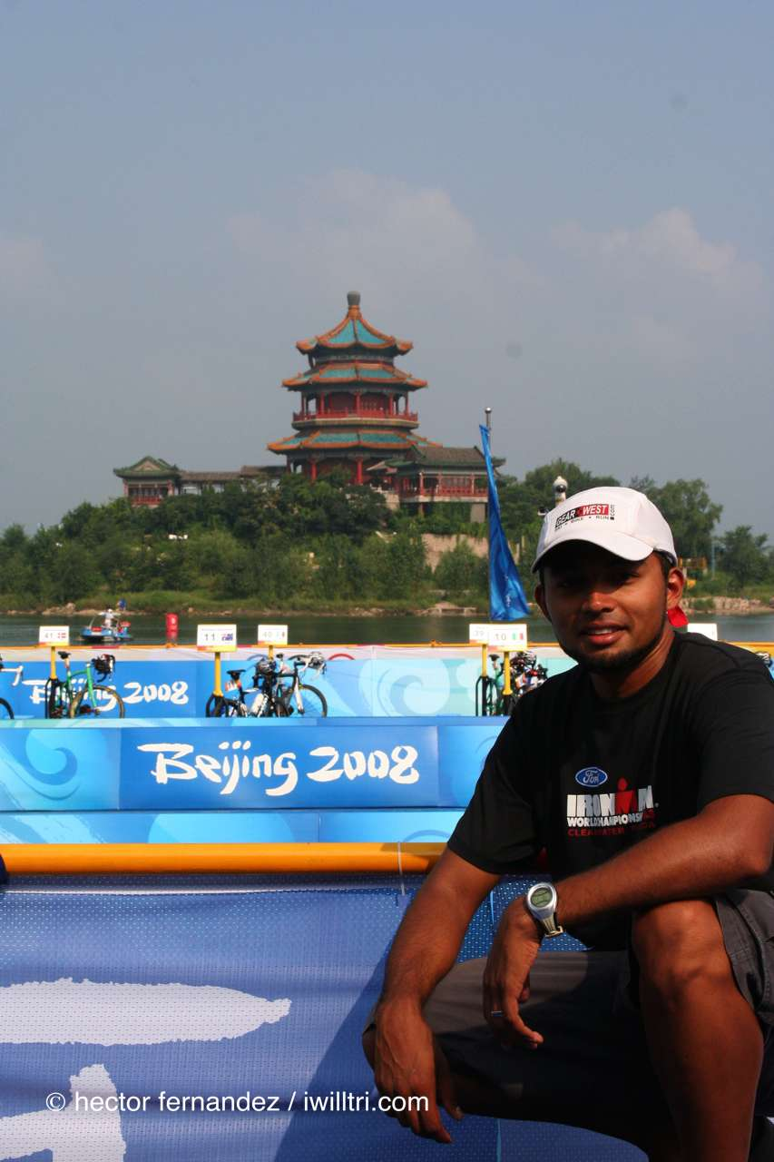 Hector at 2008 Beijing Olympics Triathlon Venue
